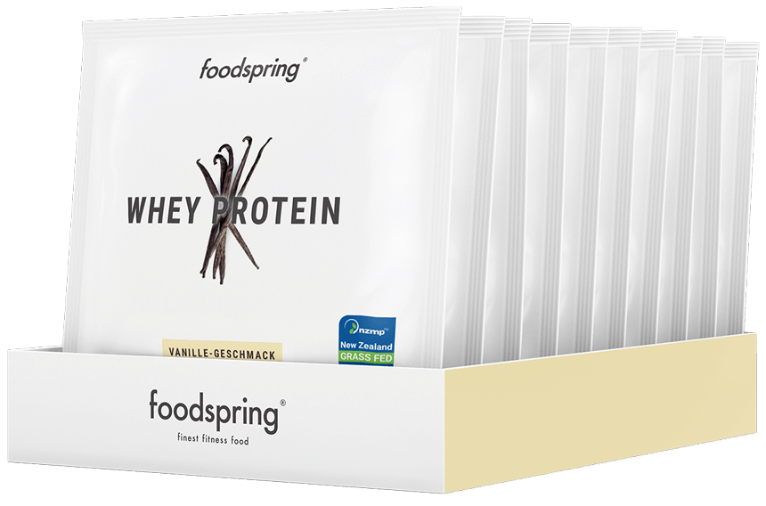 Foodspring Whey Protein, Probe 10 x 30g